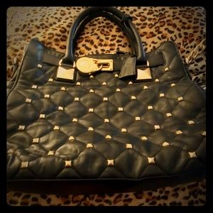 Michael kors large stud bag